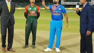 India vs Bangladesh 2nd T20I : India wins toss and elects to bowl first
