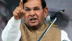 Sharad Yadav slams BJP after meeting Akhliesh Yadav in Lucknow