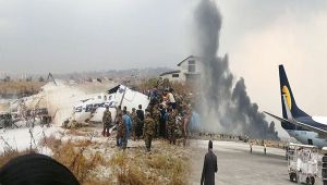 Kathmandu : US-Bangla Airlines aircraft crashes, 50 passengers killed