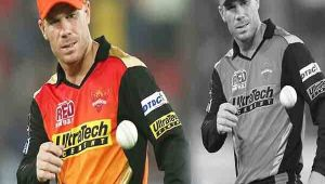 IPL 11 : Sunrisers Hyderabad skipper David Warner steps down after ball-tampering row