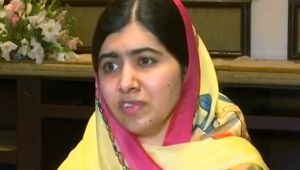 Malala Yousafzai express her happiness after returning back to Pakistan