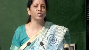 Nirmala Sitharaman pitches for women empowerment in Armed force
