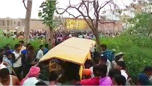 Kushinagar: 11 Students die after School Bus collides with train at unmanned crossing