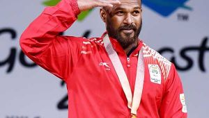 CWG 2018: Indian weightlifter Sathish Kumar Sivalingam won gold in the men's 77 kg category