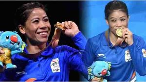 CWG 2018: Mary Kom wins GOLD in women's boxing  4548 kg category