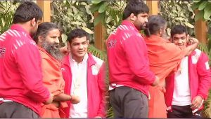 Sushil Kumar says Baba Ramdev has always guided me to the right path