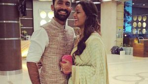 IPL 11 : KKR skipper Dinesh Karthik wishes wife Dipika Pallikal ahead of CWG