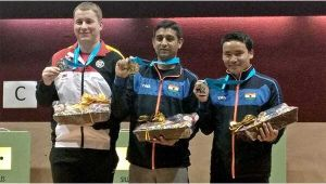 CWG 2018 : Jitu Rai and Om Prakash Mitharwal bags gold and bronze medals in shooting