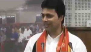 Internet existed in the time of Mahabharata also, says Tripura CM  Biplab Kumar Deb