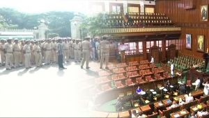 Karnataka floor test: Security beefed up at Vidhana Soudha