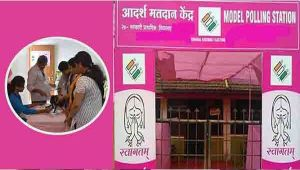 Karnataka Election: Pink Booths installed to woo women voters
