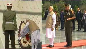 PM Modi in Jakarta, pays tribute at Kalibata National Heroes Cemetery