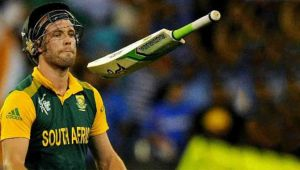 AB de Villiers announced retirement from international cricket