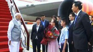 PM Modi arrives in China for SCO summit in Qingdao