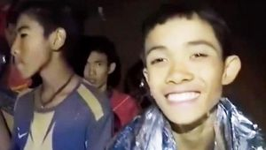 Thai Cave Rescue : 12 Children and 1 Coach Rescued
