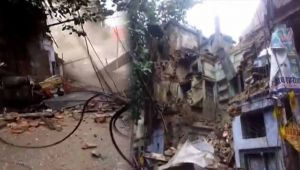 3-Storey Building Collapses in Kanpur, People Injured