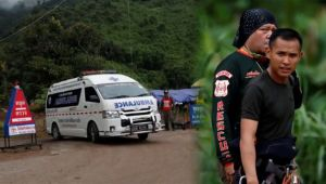 Thailand Cave rescue : Team of divers rescues six member of 12 footballers trapped in cave