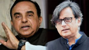 Subramanian Swamy says Shashi Tharoor should stay in Pakistan