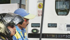 Kolkata : Prices of petrol and diesel continued to hike for the fifth consecutive day