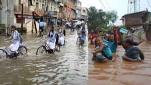 Gujarat Heavy Rainfall causes Flood Like Situation In Several Parts