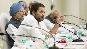 Congress President Rahul Gandhi conducts CWC's second meeting