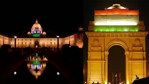 Independence Day : Indian Monuments lights up as Tricolor