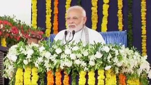 PM Modi Gujarat Visit: PM Modi Narrates his Achievements during Valsad visit
