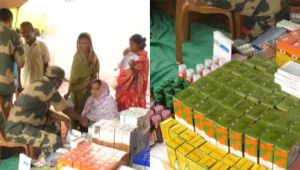 Tripura : BSF organises Medical Camps under Civic Action Program