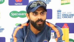 India vs England 5th Test: Ravindra Jadeja Reacts on England's Batting Collapse