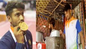 Asian Games Bronze Medalist Harish Kumar goes back to Selling Tea