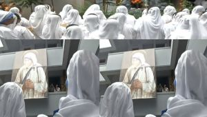 Mother Teresa Death Anniversary observed at Mother Teresa House