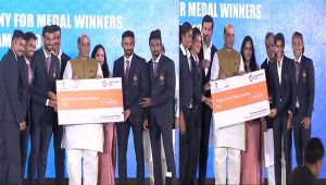 Modi Government felicitates India's Asiad medal winners with cash prize