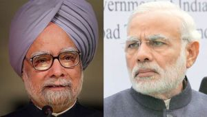 Former PM Manmohan Singh criticizes PM Modi at Shashi Tharoor's book launch event