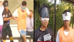 Delhi : IBFF conducts Blind Football Tournament , Watch Video