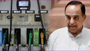 Subramanian Swamy says, I have formula to cut the Petrol price
