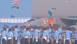 India Air Force celebrates 86th Air Force Day, Watch Viral Video