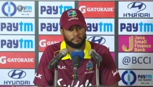 India vs Windies 2nd ODI:Gained confidence with this match, says Shai Hope