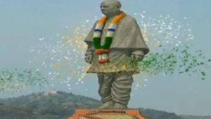 Statue Of Unity: Watch the grand laser show at inauguration of Sardar Patel's statue