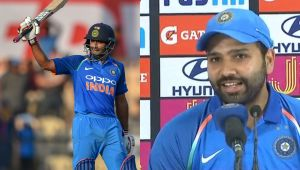 India vs Windies: Rohit Sharma praises Ambati Rayudu