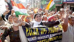 People in PoK protest against lack of health, education facilities