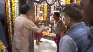 MP Election 2018: CM Shivraj Chouhan performs puja at Mahakaleshwar Temple