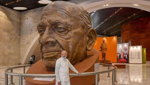 Museum inside Statue of Unity attracts huge crowd