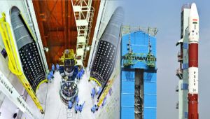 ISRO launches HysIS & 30 other satellites on PSLVC43