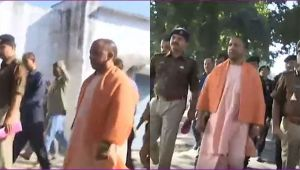 Yogi Adityanath conducts Surprise Visit at Police Lines, Lucknow