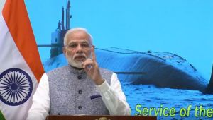 PM Modi congratulates INS Arihant Crew on Completion of Nuclear Triad