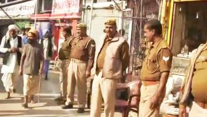 Ram Temple Dispute : Security beefed up in Ayodhya