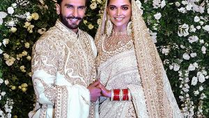 Deepika-Ranveer shine bright at their wedding reception