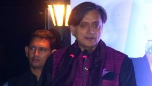 Shashi Tharoor slams PM Modi, Says 'Chaiwala is PM because of Jawaharlal Nehru'