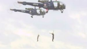 Navy Day 2018: Naval forces display acrobatic skills in Rameswaram