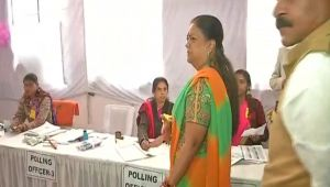 Rajasthan Election 2018: Vasundhara Raje casts her vote, Watch Video